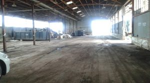 Ortona, capannone in zona industriale